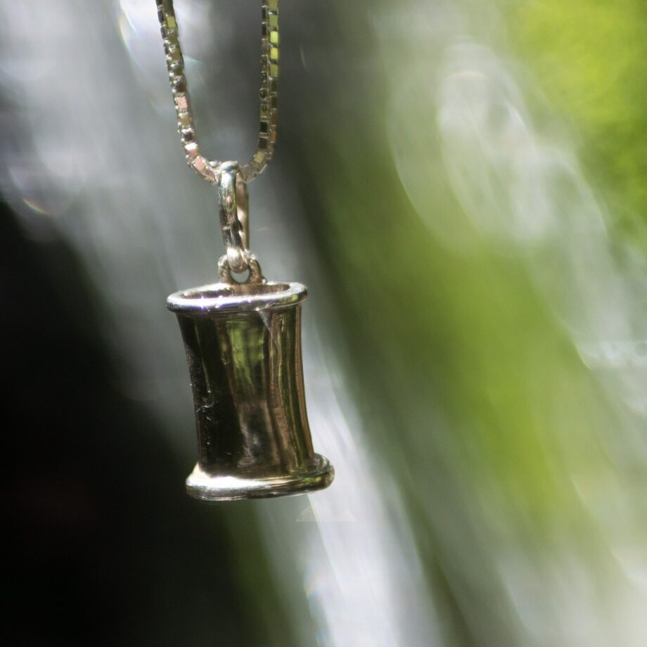 Silver Breathing Jewlery / Mindful breathing pendant – get all 3 models with 20% discount 8