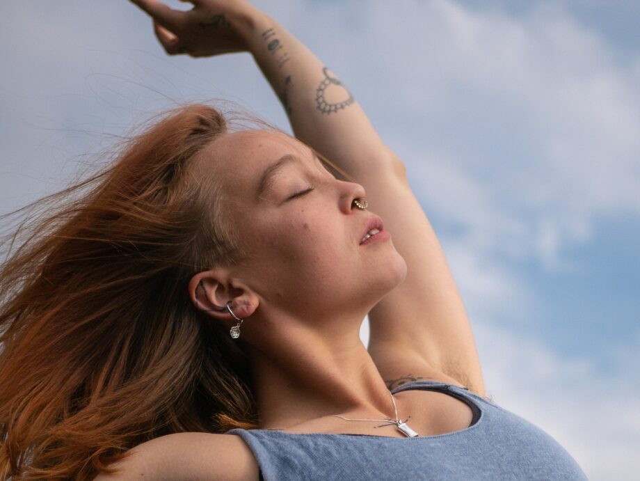 Silver Breathing Jewlery / Mindful breathing pendant – get all 3 models with 20% discount 4